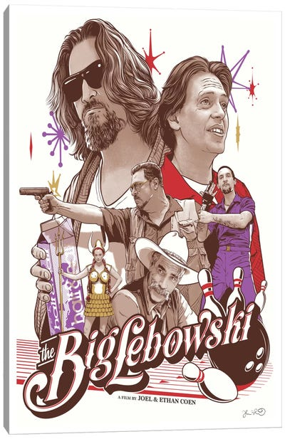 The Big Lebowski Canvas Print #JBD46