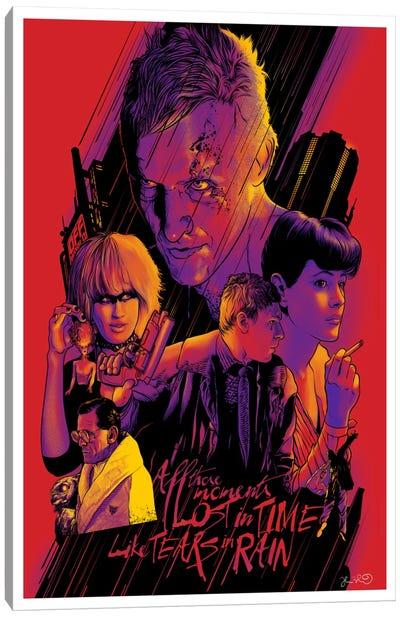 Blade Runner Canvas Print #JBD4