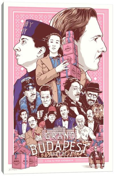 The Grand Budapest Hotel Canvas Art Print