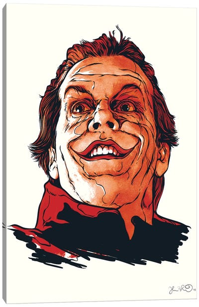 The Joker Canvas Print #JBD54