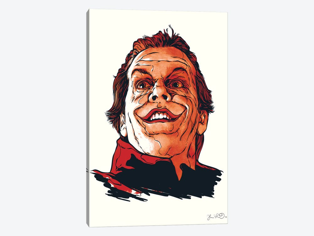 The Joker by Joshua Budich 1-piece Canvas Art Print