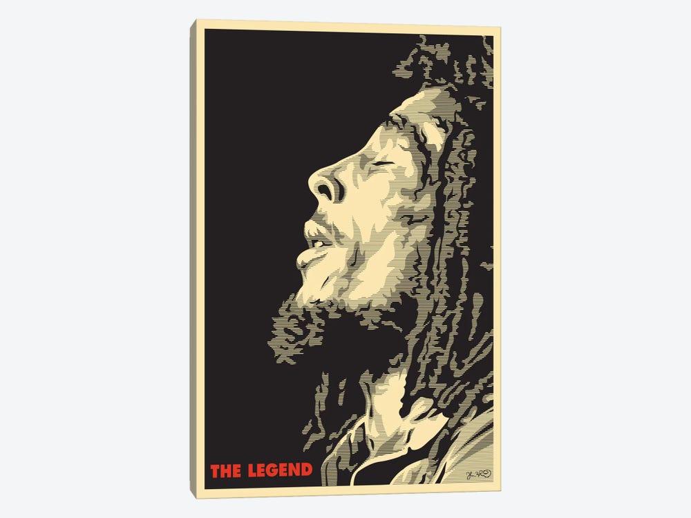 The Legend: Bob Marley by Joshua Budich 1-piece Canvas Artwork