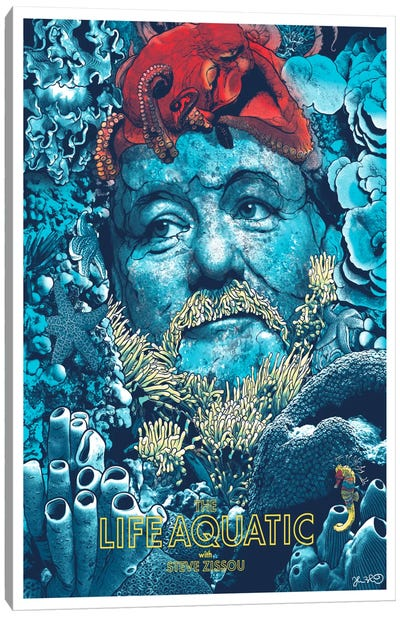 The Life Aquatic With Steve Zissou Canvas Art Print