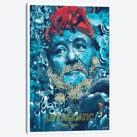 The Life Aquatic With Steve Zissou Canvas Print #JBD58} by Joshua Budich Canvas Wall Art