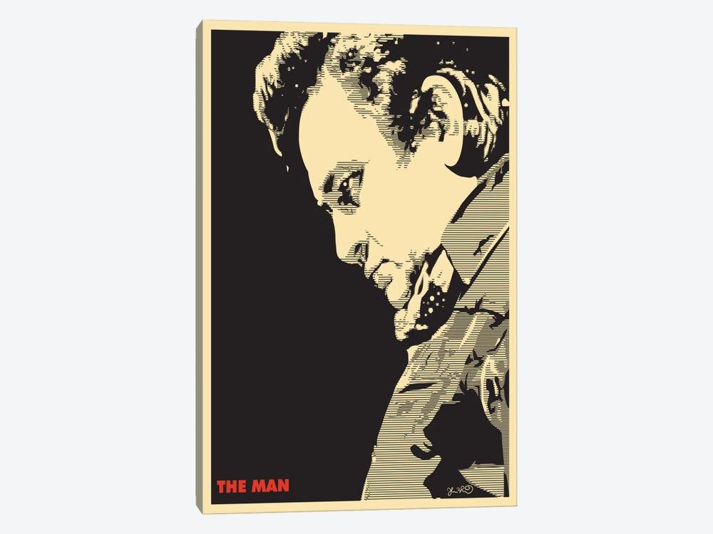 The Man: Johnny Cash Canvas Print by Joshua Budich | iCanvas