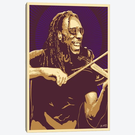 Boyd Tinsley Canvas Print #JBD5} by Joshua Budich Canvas Wall Art
