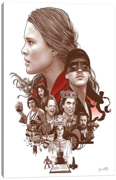 The Princess Bride Canvas Print #JBD62