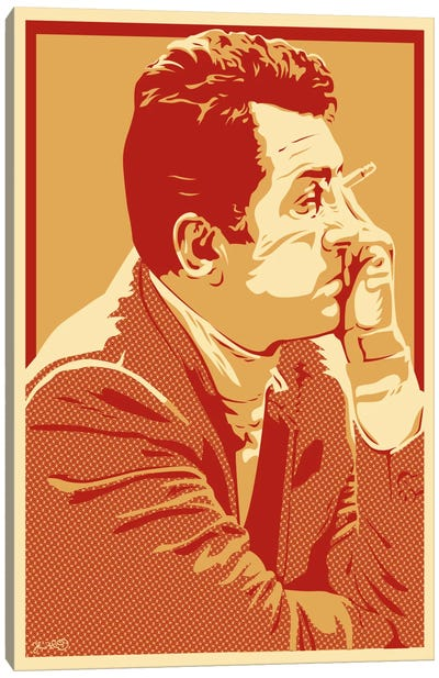 The Rat Pack Series: Dean Canvas Print #JBD63