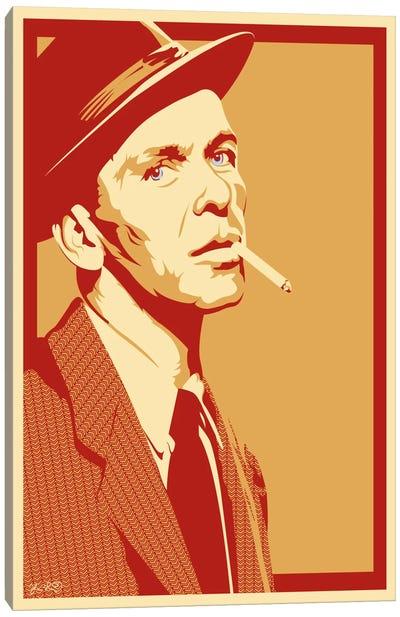 The Rat Pack Series: Frank Canvas Print #JBD64