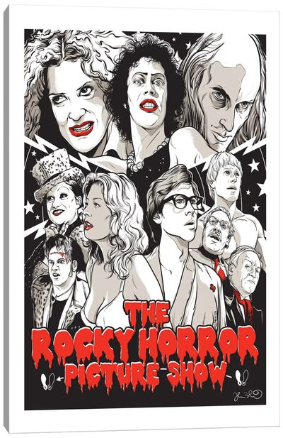 The Rocky Horror Picture Show Canvas Art Print