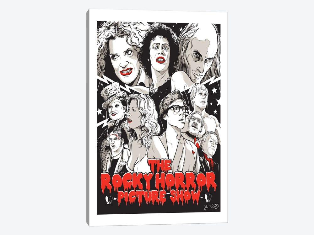 The Rocky Horror Picture Show by Joshua Budich 1-piece Canvas Artwork