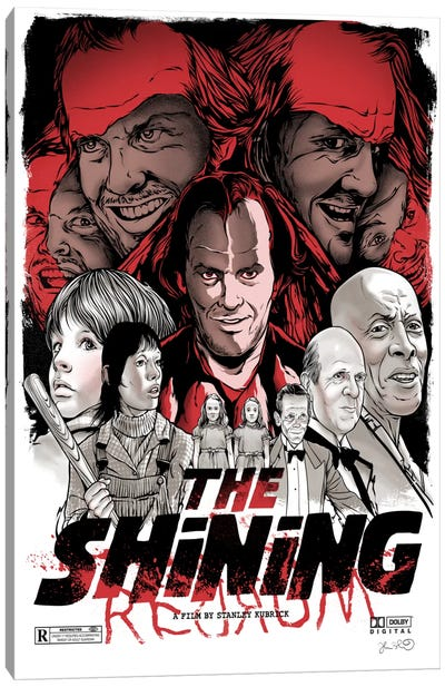 The Shining Canvas Art Print