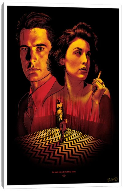 Twin Peaks Canvas Art Print