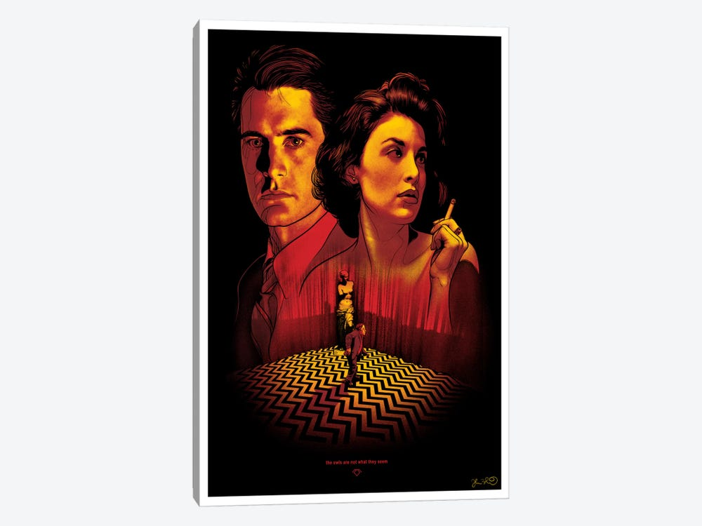 Twin Peaks by Joshua Budich 1-piece Canvas Print