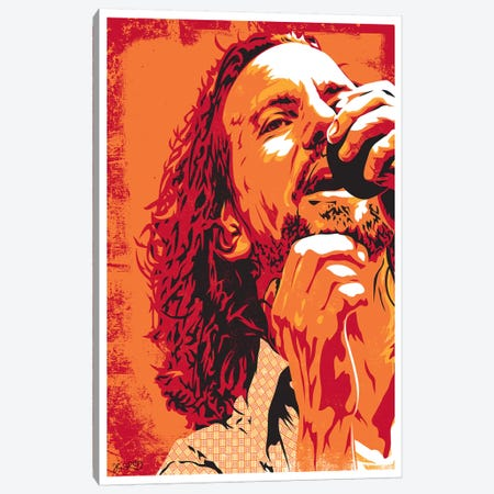Eddie Vedder Canvas Print #JBD74} by Joshua Budich Canvas Print