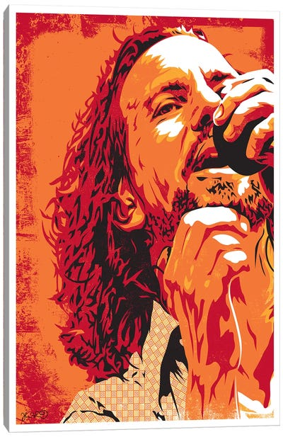 Eddie Vedder Canvas Art Print