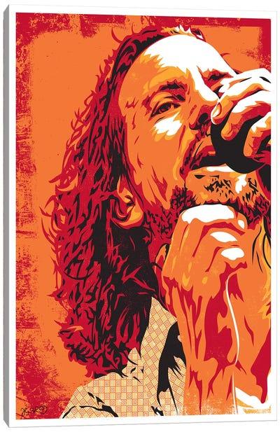 Eddie Vedder Canvas Art Print