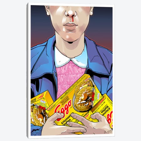 Eleven Canvas Print #JBD76} by Joshua Budich Canvas Art Print