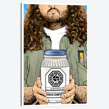 Lost: Hurley Canvas Print #JBD78} by Joshua Budich Canvas Artwork