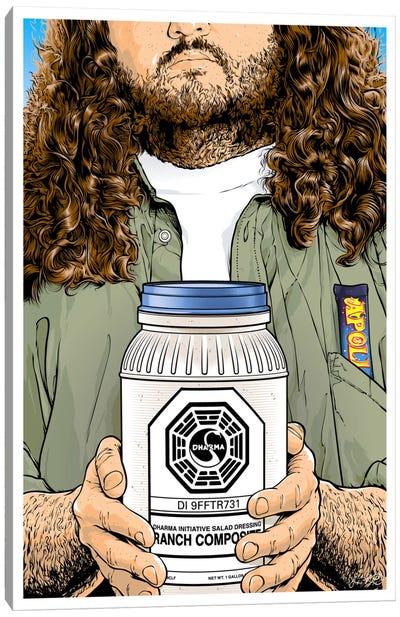 Lost: Hurley Canvas Art Print