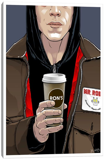 Mr. Robot Canvas Art Print