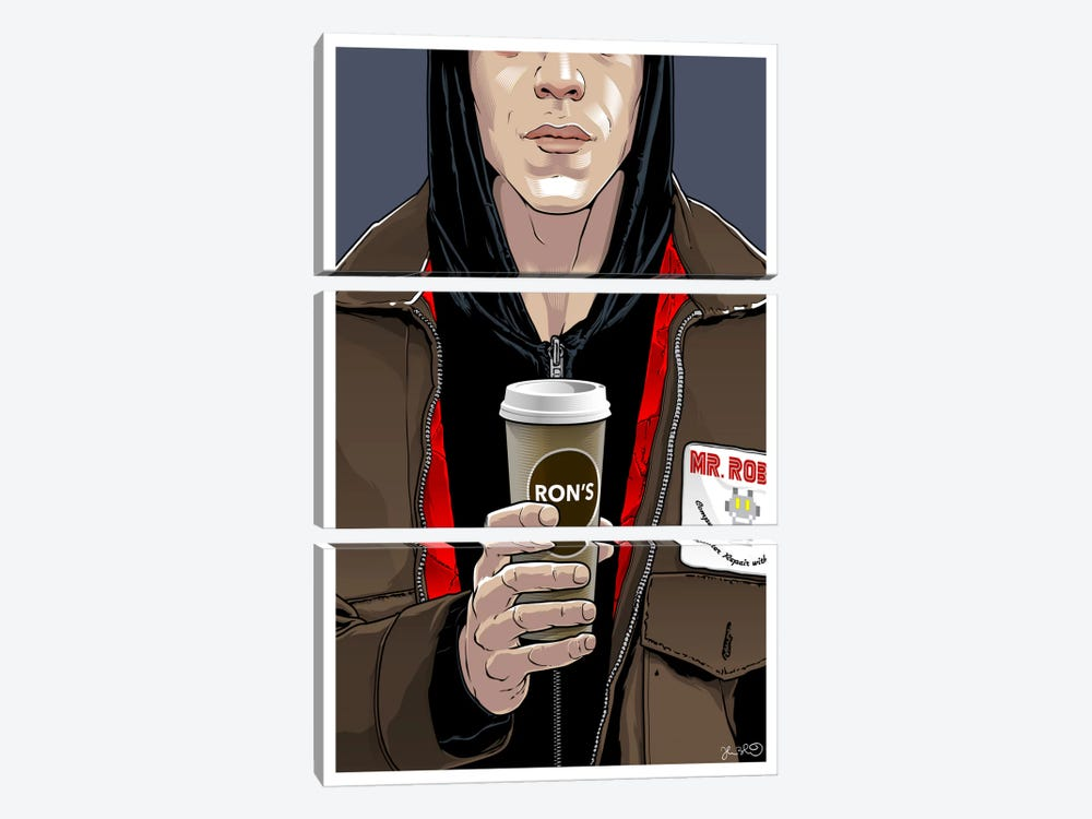 Mr. Robot by Joshua Budich 3-piece Canvas Artwork