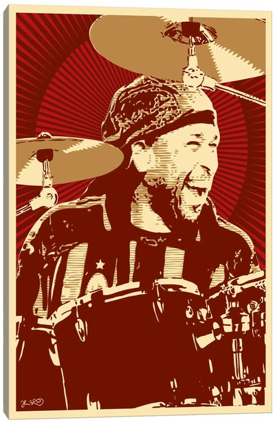 Carter Beauford Canvas Art Print