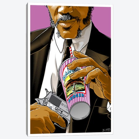Pulp Fiction: Jules Canvas Print #JBD80} by Joshua Budich Canvas Art Print