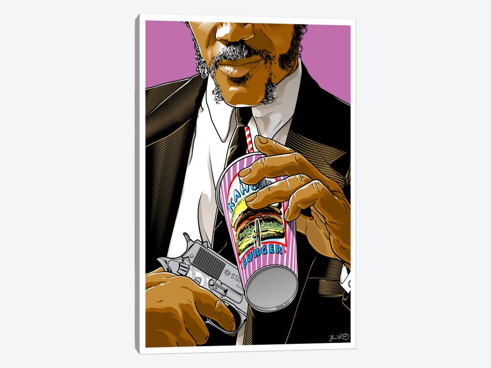 Pulp Fiction: Jules by Joshua Budich 1-piece Canvas Wall Art