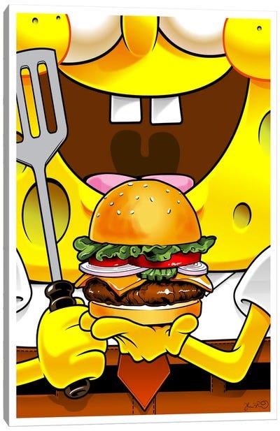 SpongeBob SquarePants Canvas Art Print
