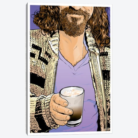 The Dude Canvas Print #JBD85} by Joshua Budich Canvas Wall Art