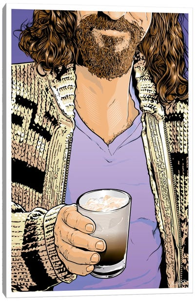 The Dude Canvas Art Print