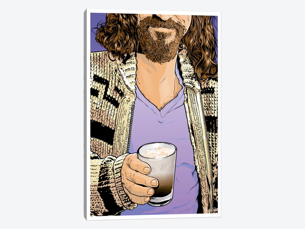 The Dude by Joshua Budich 1-piece Canvas Art Print