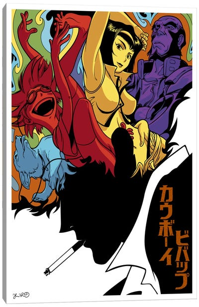 Cowboy Bebop Canvas Art Print