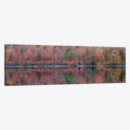 Upson Lake Reflection Canvas Print #JBE1} by Jim Becia Canvas Wall Art