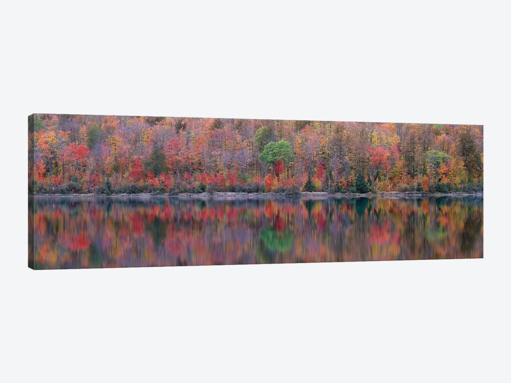 Upson Lake Reflection by Jim Becia 1-piece Canvas Print