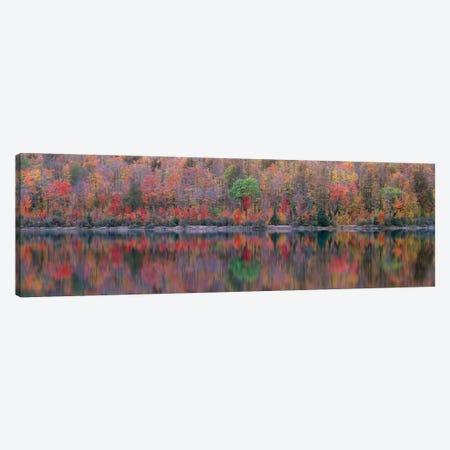 Upson Lake Reflection Canvas Print #JBE1} by Jim Becia Canvas Wall Art