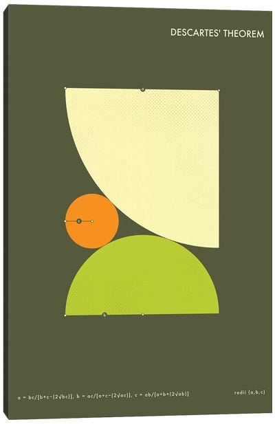 Descartes' Theorem I Canvas Art Print