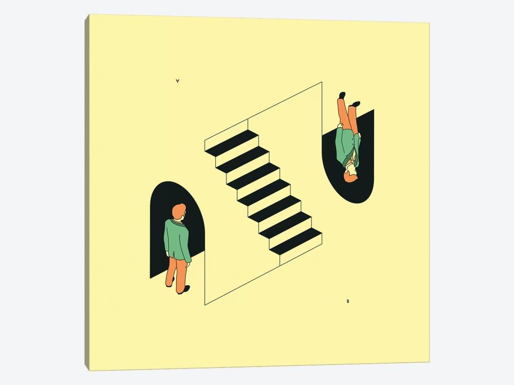 Doppelganger by Jazzberry Blue 1-piece Canvas Art Print