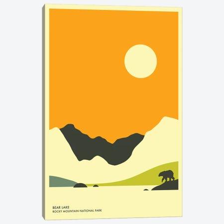 Bear Lake, Rocky Mountain National Park Canvas Print #JBL136} by Jazzberry Blue Canvas Art