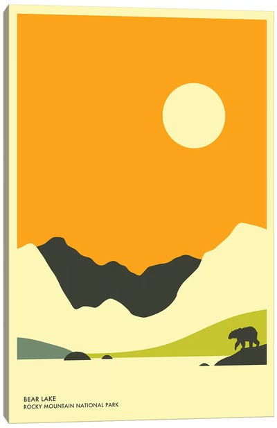 Bear Lake, Rocky Mountain National Park Canvas Art Print