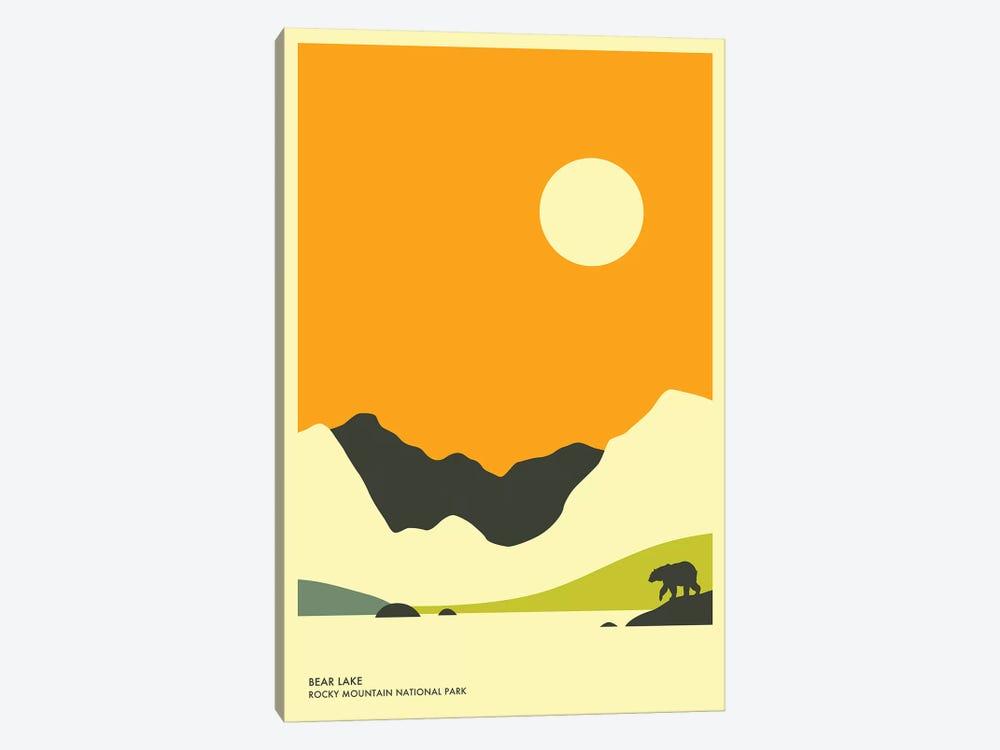Bear Lake, Rocky Mountain National Park by Jazzberry Blue 1-piece Canvas Print