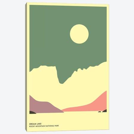 Dream Lake, Rocky Mountain National Park Canvas Print #JBL137} by Jazzberry Blue Canvas Art
