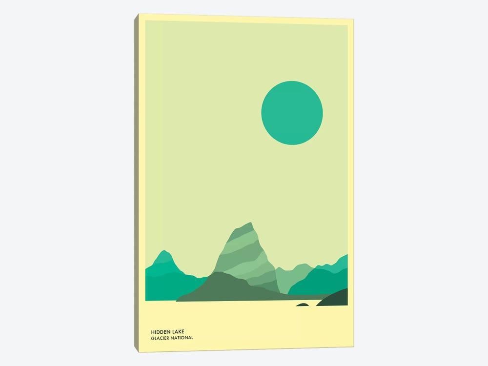 Hidden Lake, Glacier National Park by Jazzberry Blue 1-piece Canvas Print
