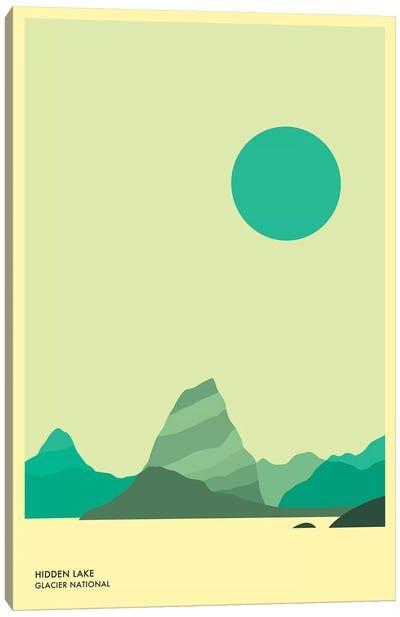 Hidden Lake, Glacier National Park Canvas Art Print