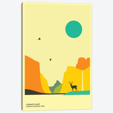 Yosemite Valley, Yosemite National Park Canvas Print #JBL143} by Jazzberry Blue Canvas Artwork