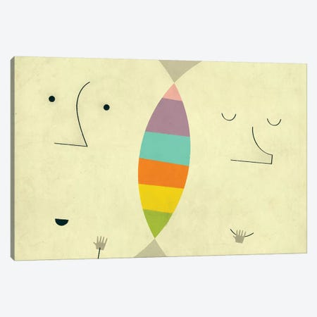 Connections II 3-Piece Canvas #JBL177} by Jazzberry Blue Canvas Wall Art