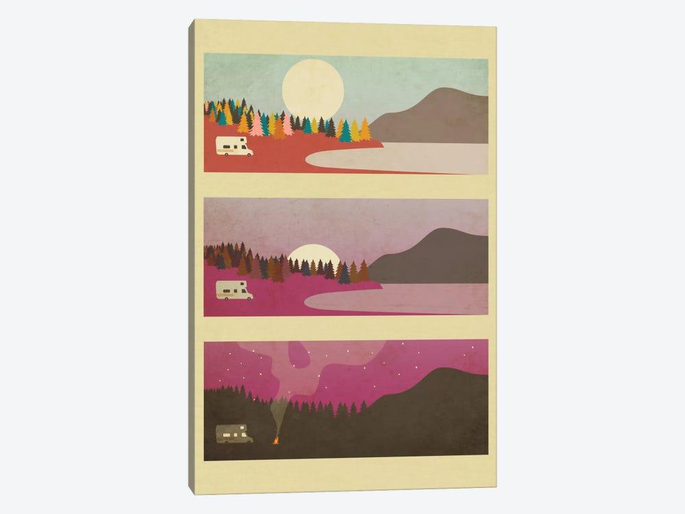 Campfire I by Jazzberry Blue 1-piece Canvas Art Print