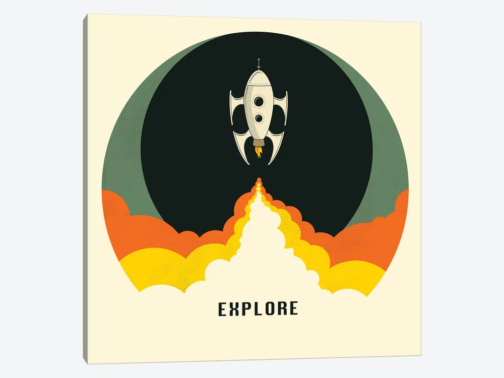 Explore I by Jazzberry Blue 1-piece Art Print