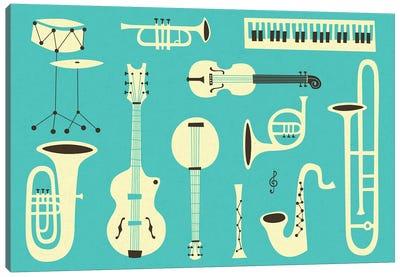Just Jazz II Canvas Art Print